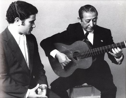 José Menese con Melchor de Marchena