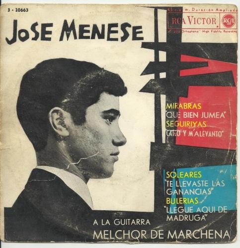 José Menese disco 1963