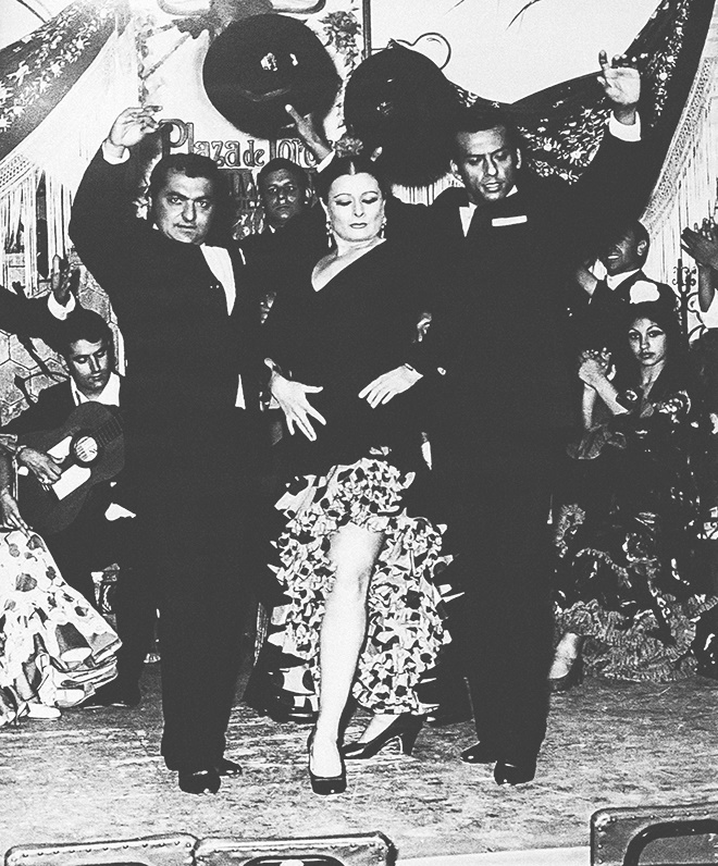 Los Bolecos. Matilde Coral, Farruco y El negro