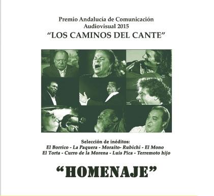 PORTADA HOMENAJE LOS CAMINOS DEL CANTE