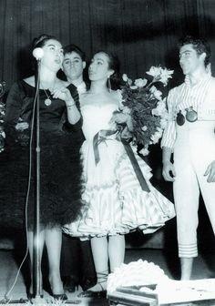 Cristina y Adelita y Manolo Soler