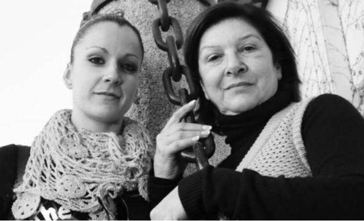 Milagros Mengíbar y Luisa Palicio