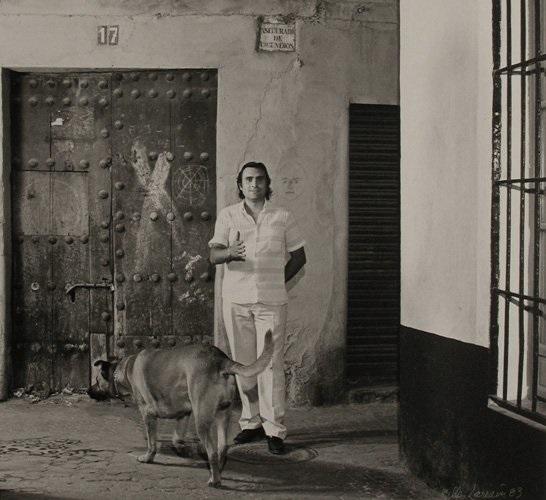 Jose_Tomasa con perro Flamenco Gallery