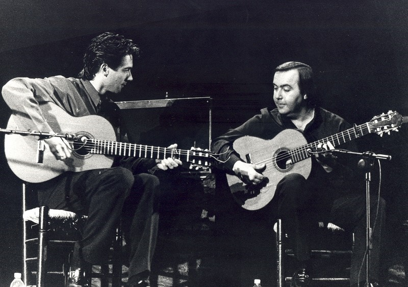 Manolo Franco y Niño Pura (malaga en flamenco)