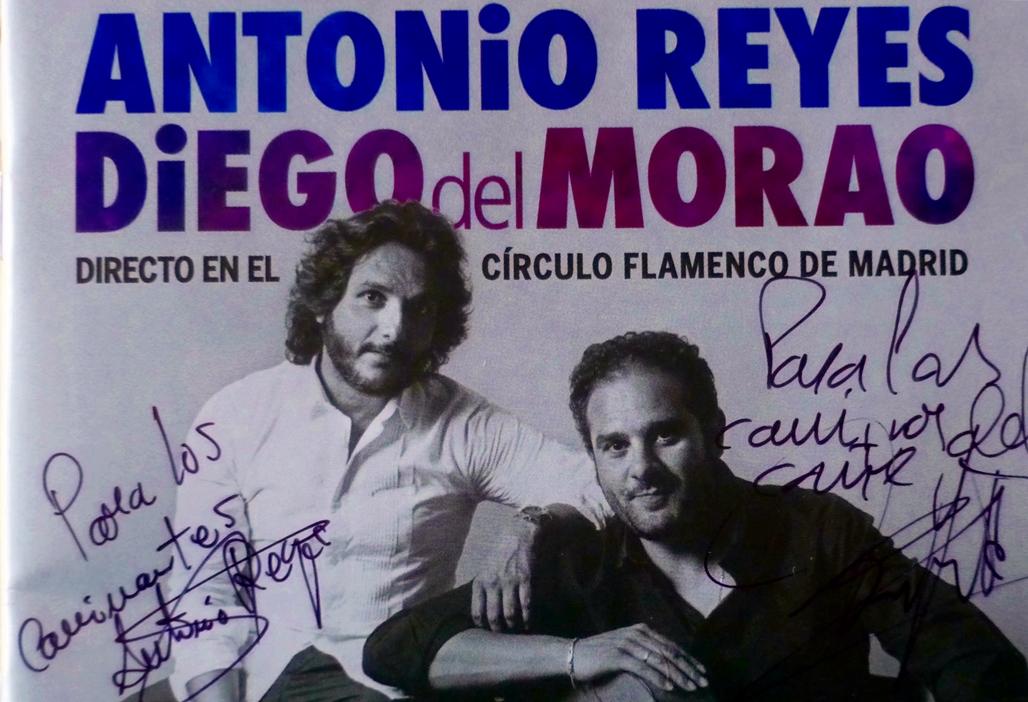 Antonio Reyes y Diego del Morao presentaron su disco en nuestroprograma