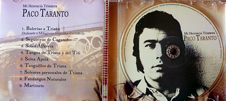 Programa.- Nuestro homenaje radiofónico al cantaor PacoTaranto
