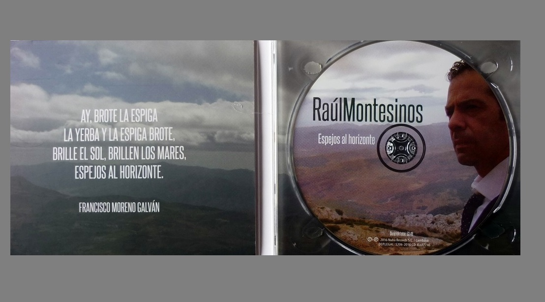 "Programa.- Raúl Montesinos nos habla de su disco ""Espejos al horizonte"""