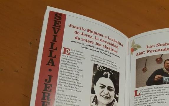 """Opinión en la revista Zoco Flamenco: """"La necesidad de releer losclásicos"""""""