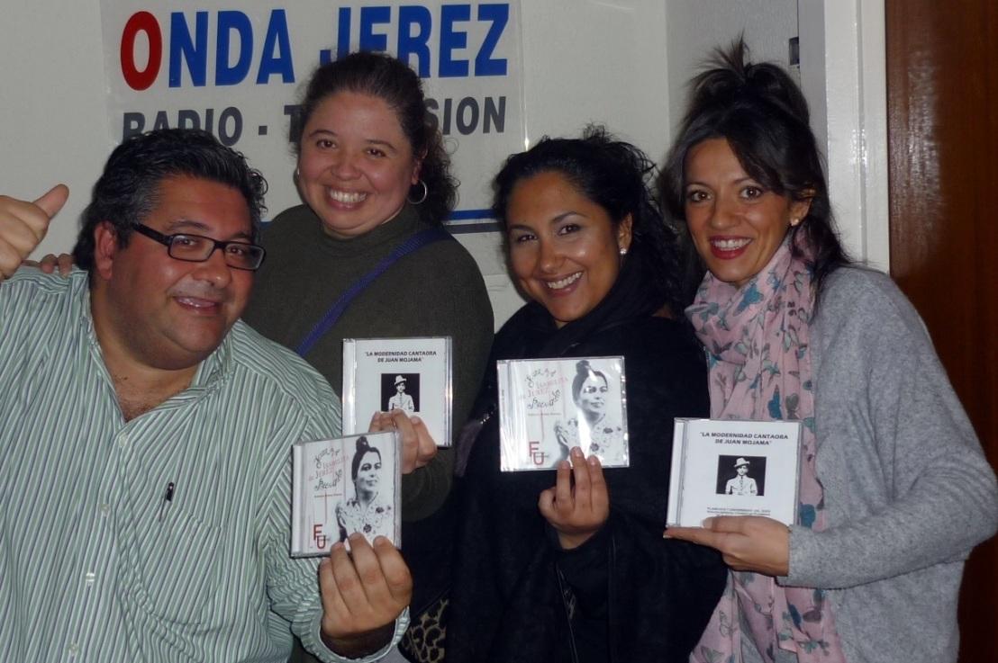 Entrevista.- La cantaora Felipa la del Moreno visitó nuestros estudios de Onda JerezRadio