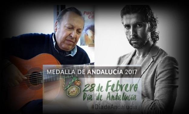 Programa especial dedicado a las Medallas de Andalucía 2017: Paco Cepero yArcángel