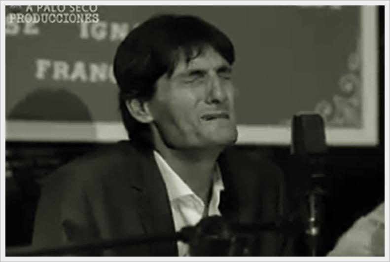 """Vídeo.- """"A Palo Seco Producciones"""" nos invita a una pincelada de Antonio Agujetas eníntimo"""