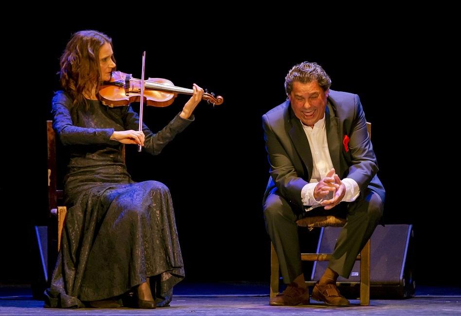 """Programa.- La violinista Sophia Quarenghi nos visitó con audios de su """"Flamenco más allá de laFrontera"""""""