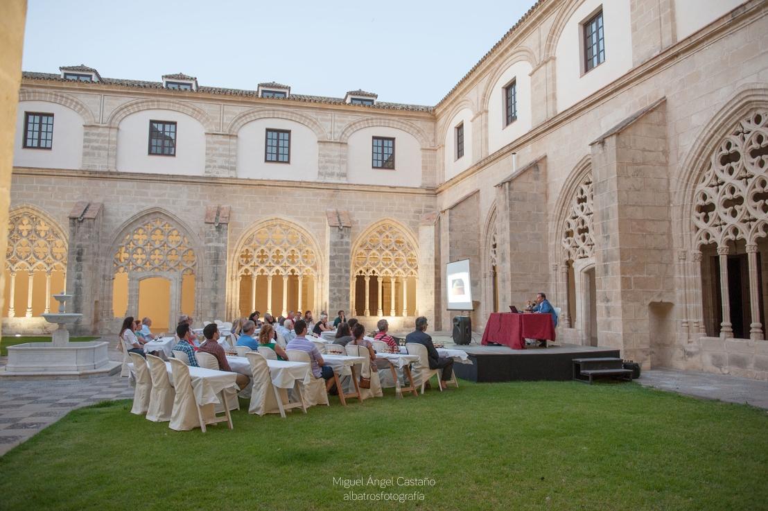 """Vídeo.- """"Flamenco & Sherry Experience"""" en Los Claustros de Santo Domingo de Jerez(2014)"""