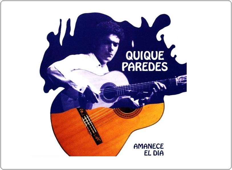 El mundo flamenco lamenta la pérdida del guitarrista sevillano QuiqueParedes