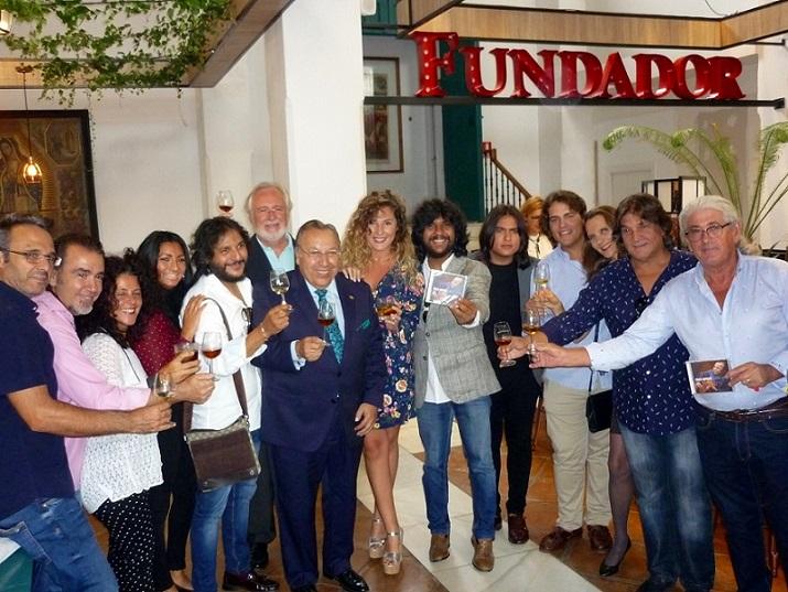 """Paco Cepero comparte su """"Sueño Flamenco"""" en las Bodegas Fundador deJerez"""