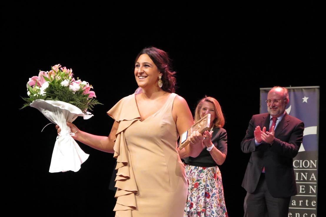 """Lela Soto """"Sordera"""", premio absoluto Talento Flamenco 2017 de la Fundación CristinaHeeren"""