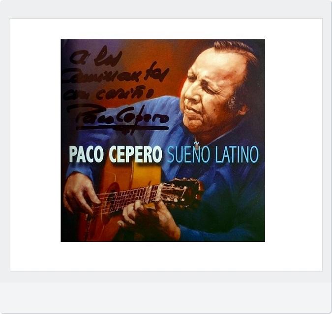 """Programa.- Visita de Paco Cepero para presentarnos su disco """"SueñoLatino"""""""