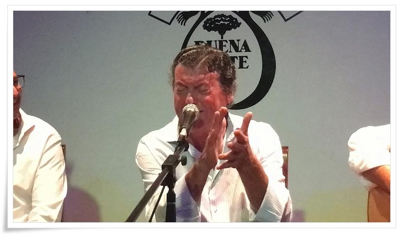 """Programa.- Recital en directo de Luis """"El Zambo"""" en La Buena Gente de Jerez(I)"""