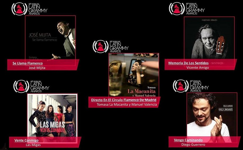 Programa.- Un repaso sonoro de las candidaturas flamencas a los Grammy´s Latinos2017