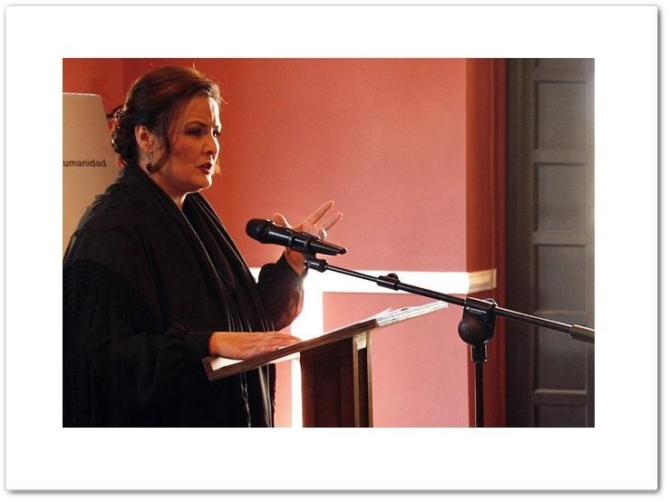 Emotivo manifiesto de María del Mar Moreno por el Día del Flamenco enJerez