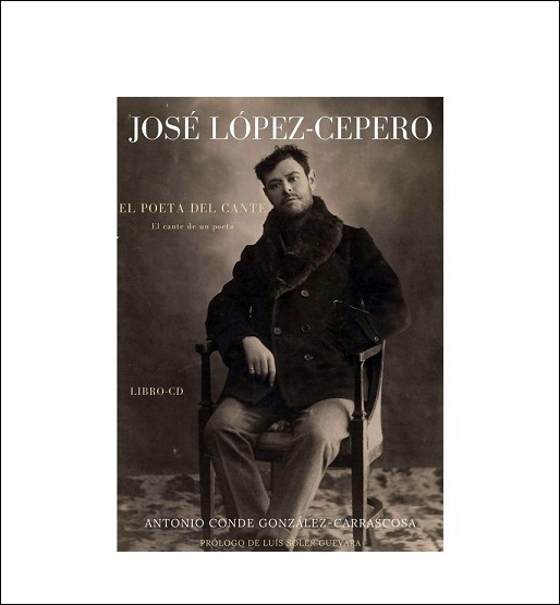 """¡Ya a la venta el libro CD sobre José Cepero """"El Poeta delCante""""!"""