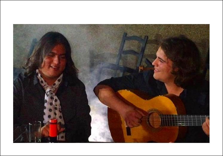 """Samuel Serrano presenta """"Dos Caminos"""" en La Venta de Vargas de SanFernando"""
