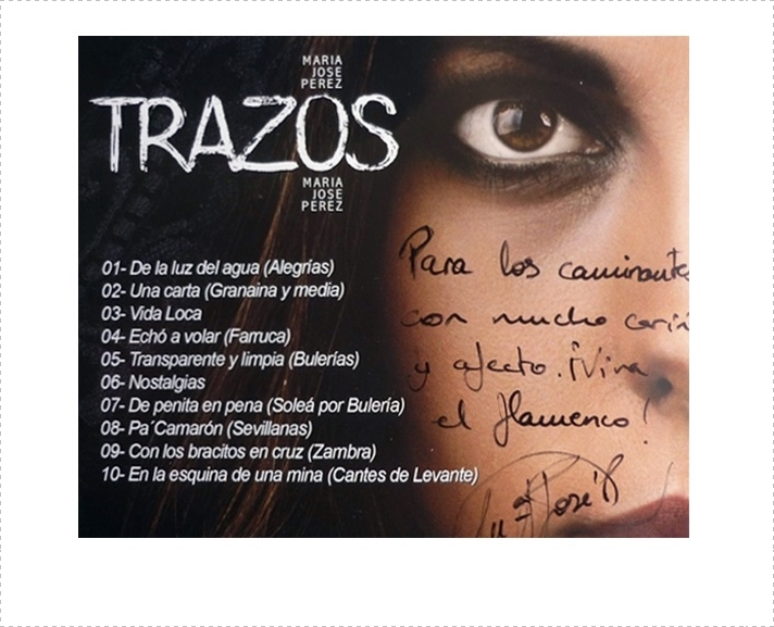 "Programa.- María José Pérez nos visita para presentarnos su disco ""Trazos"""