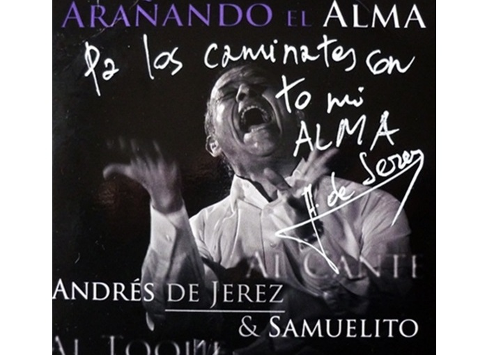 "Programa.- Andrés de Jerez nos presenta su disco ""Arañando elalma"""