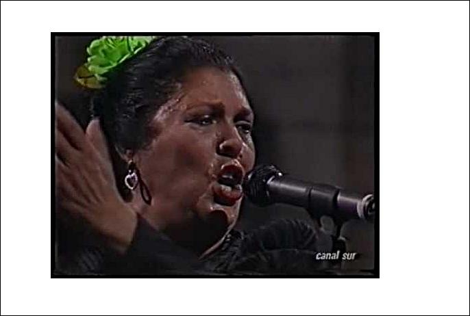 """Dolor en el mundo flamenco por la muerte de Antonia """"LaNegra"""""""