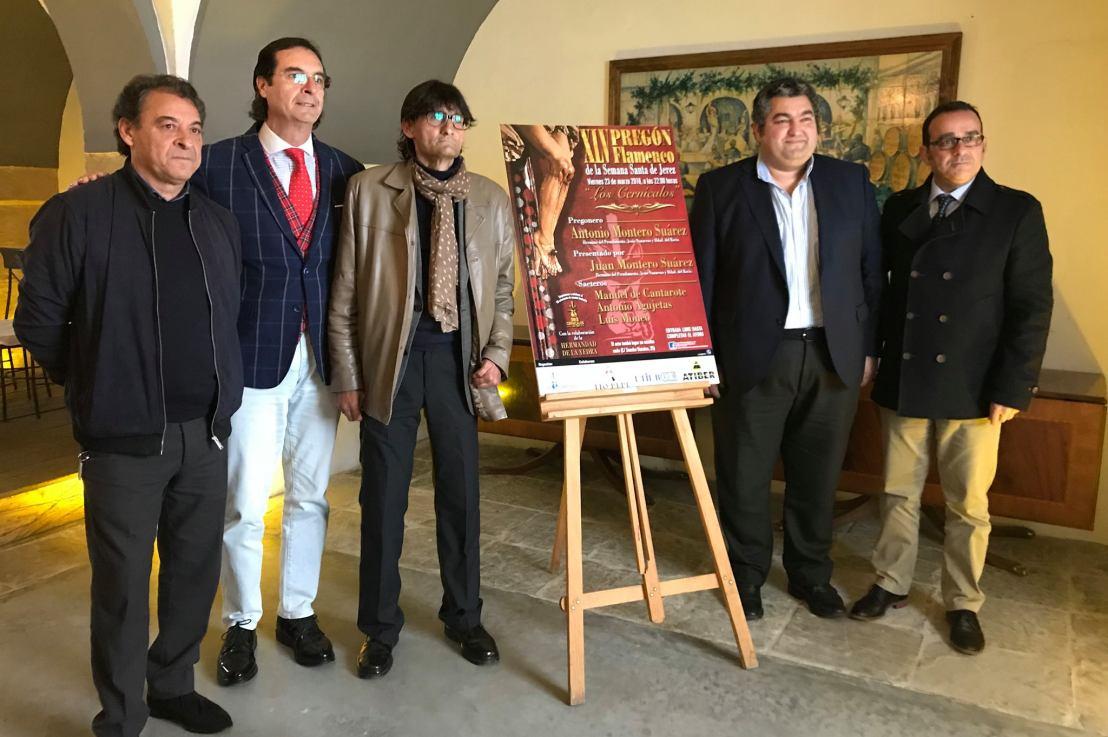 Presentado el XLV Pregón Flamenco de la Semana Santa de Jerez de LosCernícalos