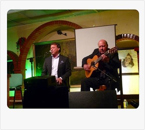 """Programa.- Recital de Luis Moneo y Domingo Rubichi en """"Los Cernícalos"""""""