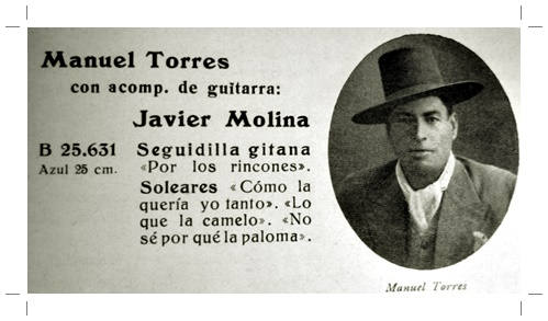 Aula de Flamenco: Manuel Torre en la Colección de Carlos MartínBallester