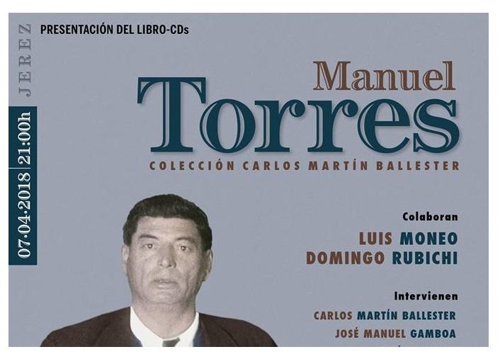 """El libro cd sobre Manuel Torre se presenta en """"Los Cernícalos"""" deJerez"""