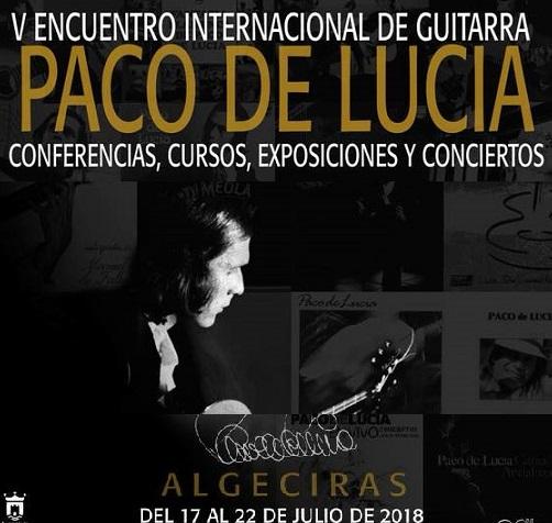 """Comienza el V Encuentro Internacional de Guitarra """"Paco de Lucía""""2018"""