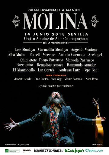 Manuel-Molina cartel homenaje