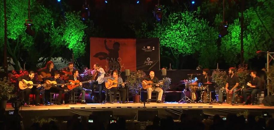 La noche de Jerez se hizo armonía flamenca para José LuisBalao