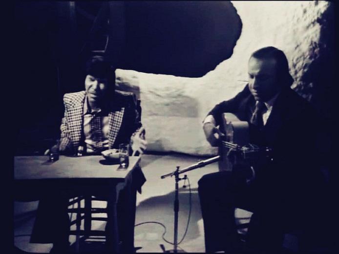 """Para el estudio.- """"Los Caminos de la Soleá"""": Rancapino con PacoCepero"""