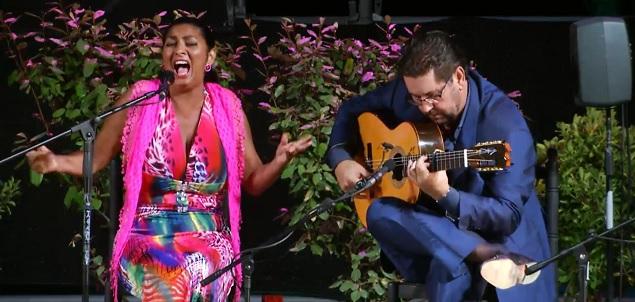 La ACF Fernando Terremoto clausura los Viernes Flamenco Fundador(vídeos)