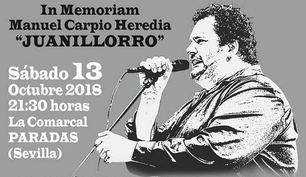La peña Miguel Vargas de Paradas rinde el primer homenaje aJuanillorro