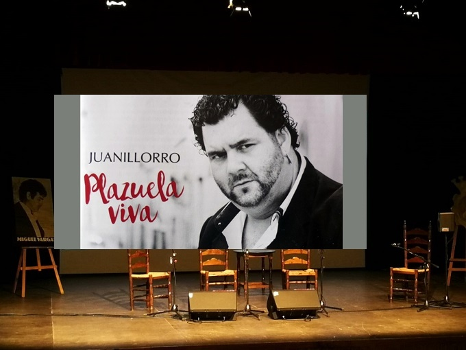 El cartel del Homenaje a Juanillorro en Jerez a un paso de su presentaciónoficial
