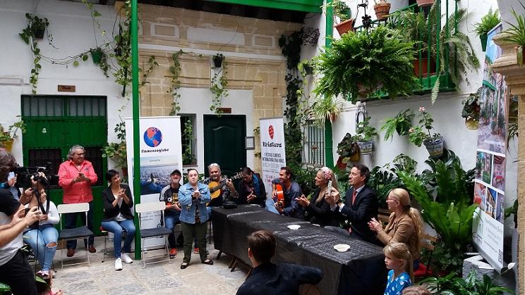"""Participamos en la inauguración del I Festival Flamenco para niños""""Kriatura"""""""