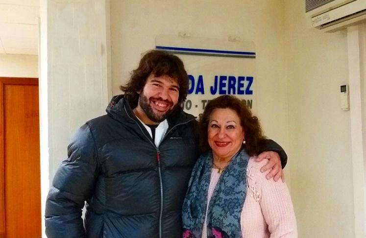 Programa.- La cantaora María Vargas visita nuestros estudios(entrevista)