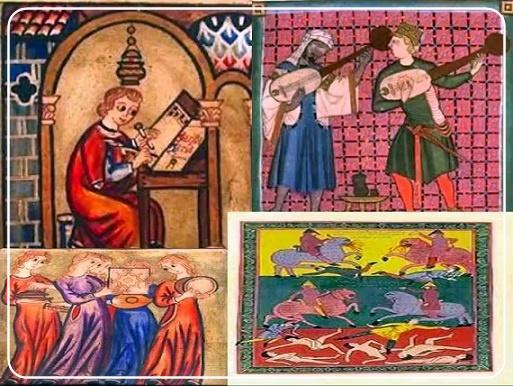 El romancero hispánico como origen y fuente de las coplas de lazambomba