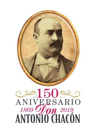 150_Aniversario_Antonio_Chacon logo