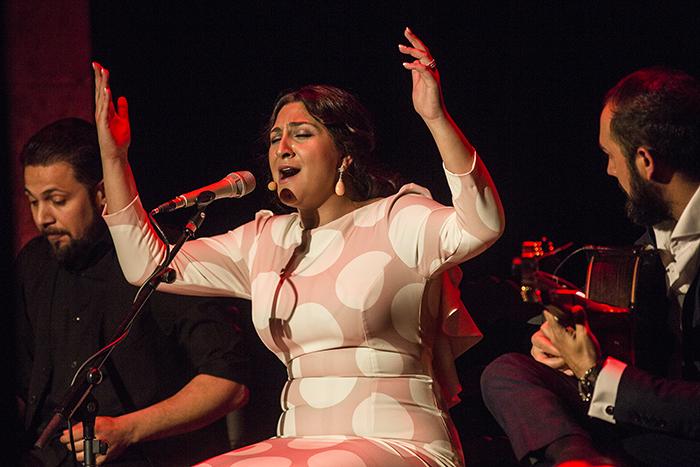 Sonido directo del Festival de Jerez: Lela Soto en La Bodega Los Apóstoles(I)