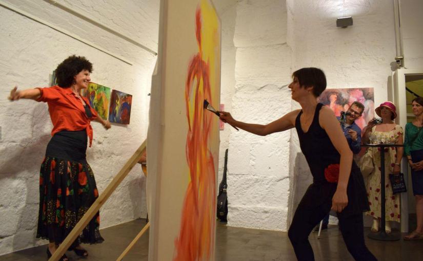 """El CADF acoge la exposición """"Sobre Fronteras"""" de SandraHundelshausen"""