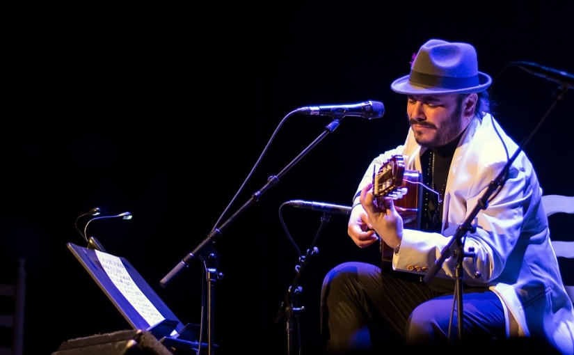 El cantaor Ingueta Rubio lanza su primer disco ensolitario