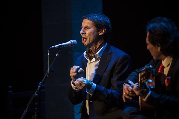"""Sonido directo del Festival de Jerez: Perico """"El Pañero"""" con AntonioCarrión"""