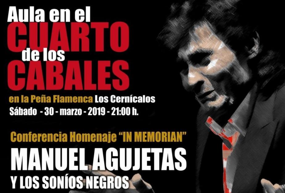 Programa.- La Peña Los Cernícalos rinde el primer homenaje en Jerez a ManuelAgujetas