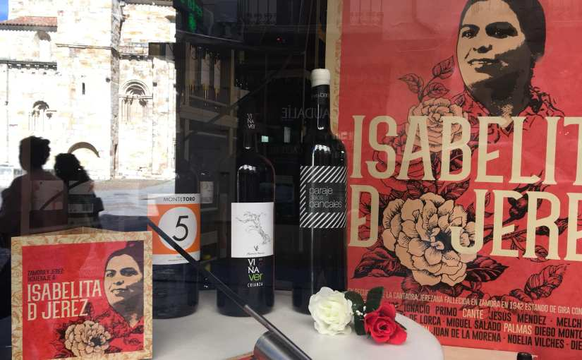 Programa completo del encuentro flamenco Zamora – Jerez porIsabelita
